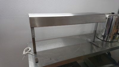 Used  Stainless Steel Display Gantry Light Catering Kitchen Restaurant Food Prep