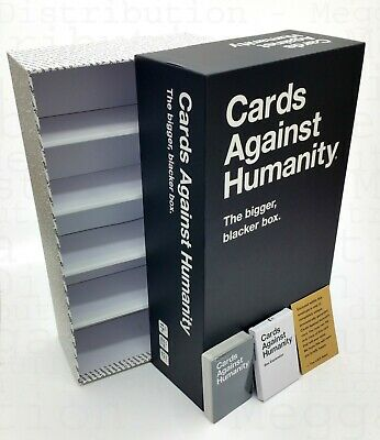 Cards Against Humanity:The Bigger Blacker Box Storage Case + 20 Expansion cards