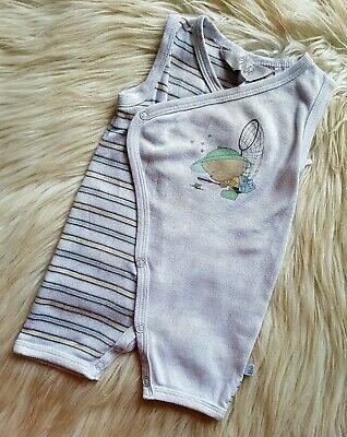 BEBE BY MINIHAHA - Size 3m (000) summer striped romper