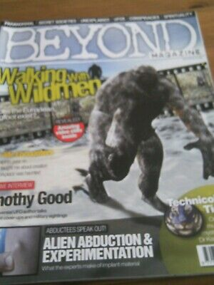 Beyond Magazine. Issue 9. Bigfoot, Alien Abduction Etc.,