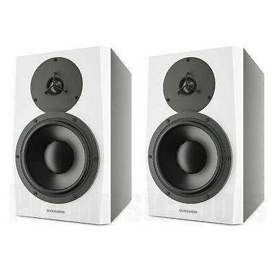 """Dynaudio LYD-8 White - PAIR BUNDLE SET - 8"""" Studio Monitor - demo *NEW* lyd8 wh"""