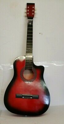 "Acoustic Classic Guitar 3/4 Size 38"" For Beginners Student / Adults 6 Strings UK"