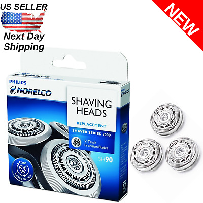 Philips Norelco SH90/52 Replacement Shaving Heads Blades Part Series 9000 s9000