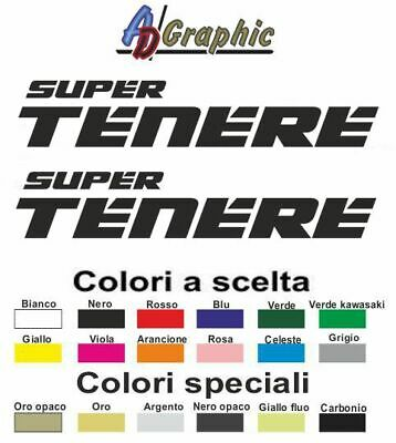 Adesivi adesivo 2.PZ Stickers decal sticker yamaha supertenere 1200 super tenere