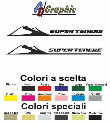 Adesivi adesivo 2.PZ Stickers decal sticker yamaha supertenere super tenere 1200