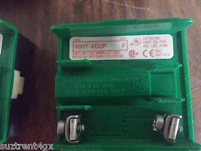 Allen Bradley 800T-Xd2P Contact Switch 600Vac Max Contact Block *Used*