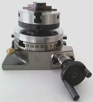 """75mm 3 Slot w 50mm Lathe Chuck /& Clamping kit Rotary Table 3/"""""""