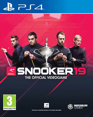 Snooker 19 - The Official Video Game PS4