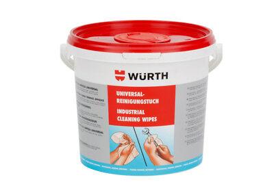 Wurth Universal Orange Cleaning Wipes 72 Piece Reusable Cleaning Wipe Cloth