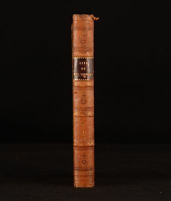 1834 Life of Mrs Siddons Thomas Campbell Volume I Only First Edition