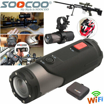 WIFI HD 1080P Sports Action Camera Bike Helmet Motorbike Camcorder For Shotgun