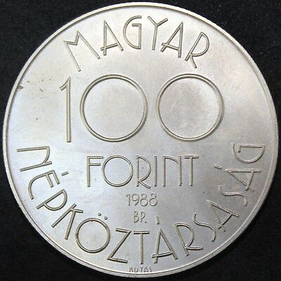 1988 | Hungary 100 Forint | Cupro-Nickel | Coins | KM Coins