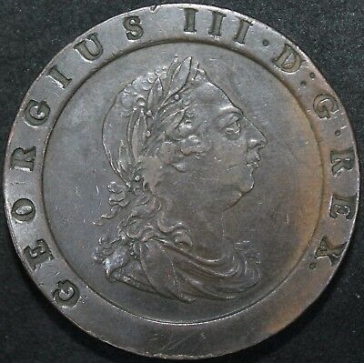 1797 | George III Cartwheel Twopence | Copper | Coins | KM Coins