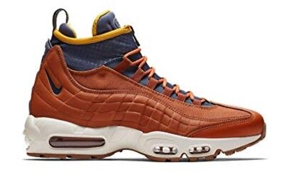 2018 NIKE AIR Max 95 SneakerBoot SZ 13 Russet Thunder Blue