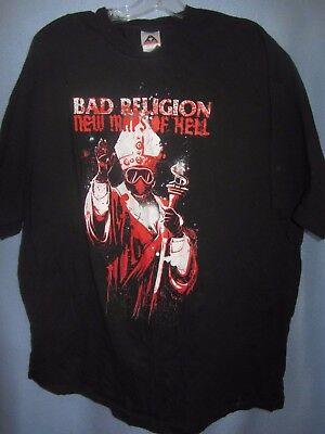 Bad Religion New Maps of Hell t-shirt sz 2XL Alstyle 100% cotton