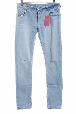 ZARA Jeans taille basse bleu clair style seconde main Dames T 38