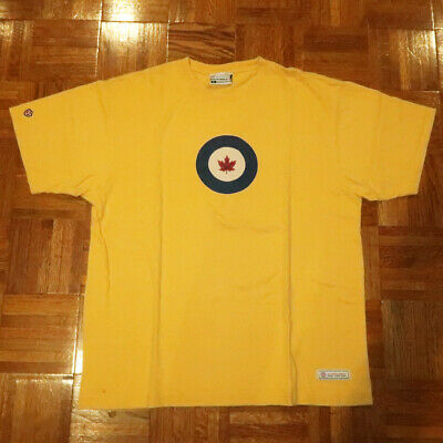 ROYAL CANADIAN AIR Force Crest Shirt RCAF Canada Tee NEW