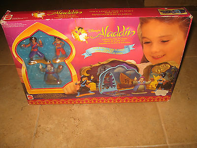 Mattel Disney's Aladdin Once Upon a Time Playset New!!