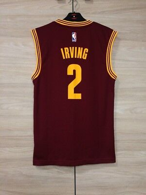 30a8a76ad89 Cleveland Cavaliers Kyrie Irving #2 NBA Adidas Basketball Jersey Shirt size  XS