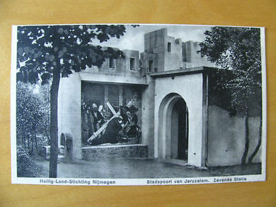 Pc Netherlands Holland Pays Bas Perfin ''K'' Gate Jerusalem squirrel 1937