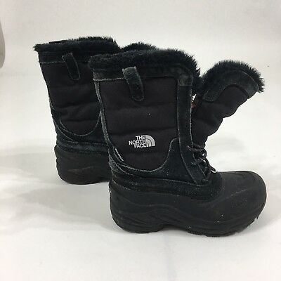 d95dcb1f4 THE NORTH FACE 600g Snow Winter Boots Girl's Toddler Size 2 EUR 33.5 ...