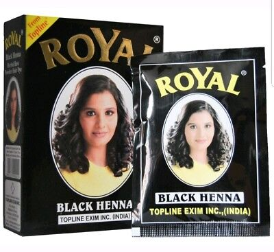 ROYAL HAIR HENNA Mehendi Powder Mehndi Hair Dye Hair Color 6 ...