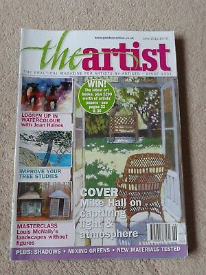The Artist Magazine Back issue in V G Condition June 2012