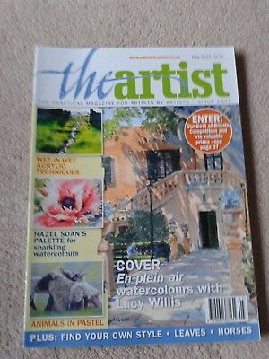 The Artist Magazine Back issue in V G Condition May 2012