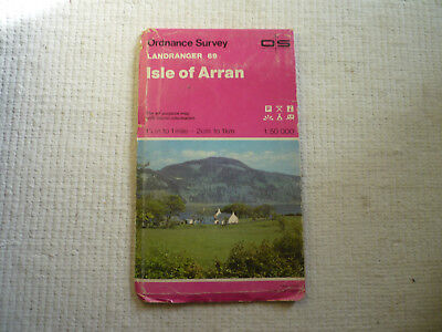 Ordnance Survey Landranger map 69 of Isle of Arran, 1979