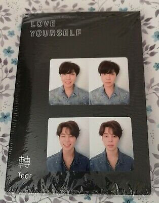 BTS Album Tear + 1 Photo card version R Bangtan Boys Love Yourself