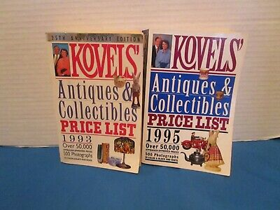 Lot Of 2 Koval's Antiques & Collectibles Price Guide