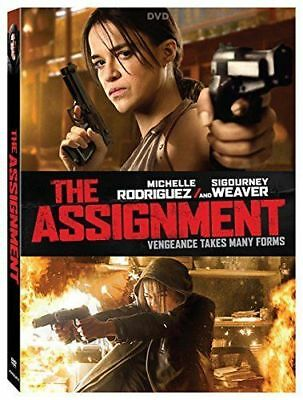 The Assignment [Michelle Rodriguez, Sigourney Weaver] 2017, DVD, W/ Slipcover