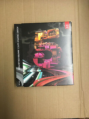 Adobe Master Collection CS5 MAC deutsch Vollversion Mwst BOX Karton RETAIL