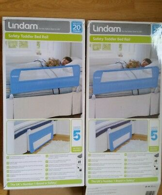 2 X New Lindam Safety Toddler Bed Rails ☆ Collection Only ☆