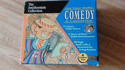 Old Time Radio, Comedy And Laughter Collectors Ed 1997 12 Classic Radio Shows