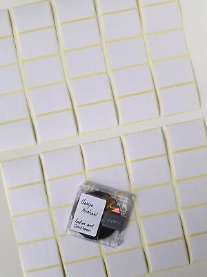 200x BLANCO MiniDisc labels MD Mini Disk (stickers) W