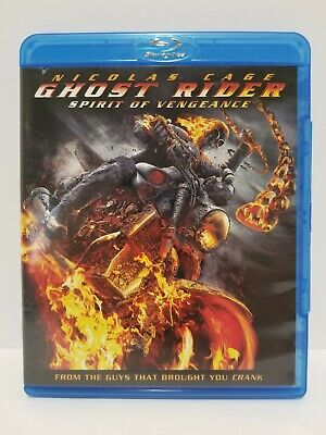 Ghost Rider: Spirit of Vengeance: Blu-ray: Canadian - no scratches + Warranty
