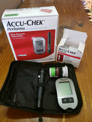 Accu-Chek Performa Blood Glucose Monitor and Accu-Chek Performa test strips