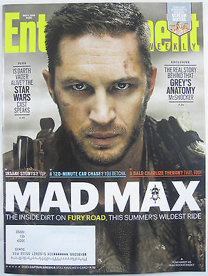 Entertainment Weekly #1361 Mad Max The Inside Dirt on Fury Road - May 1, 2015