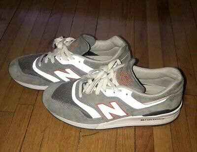 half off bd56a e2660 NEW BALANCE 997 Sz 9 Age Of Exploration Made In Usa Gray Grey Orange M997Cht