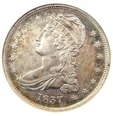 1837 Capped Bust Half Dollar 50C O-101 - ANACS AU Detail - Rare Certified Coin!