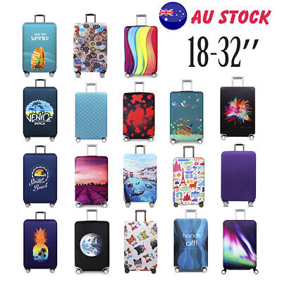 Travel Luggage Cover Trolley Suitcase Protector Elastic Dust-Proof Bag S/M/L/XL