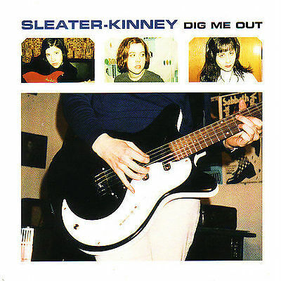 Sleater-Kinney Dig Me Out 1997 Kill Rock Stars CD KRS279 Carrie Brownstein