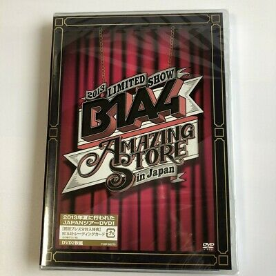 2013 B1A4 LIMITED SHOW AMAZING STORE in Japan DVD Free Shipping SEALED