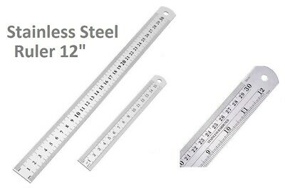 90 Degree 25cm Length Stainless Steel L-Square Angle Ruler L2H4 1X