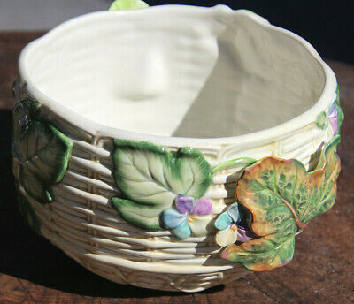 Fitz and Floyd Classics  Large Bowl  Floral Painted EASTER