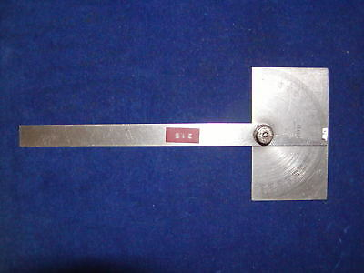 General No.17 Protractor Stainless Steel Square Head