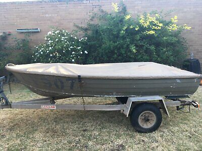 Boat, tinnie and trailer SPECIAL EASTER PRICE NO NEG