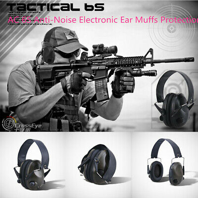 Tactics TAC 6S Anti-Noise Ear Muffs Protection  pretect  Shooting Hunting