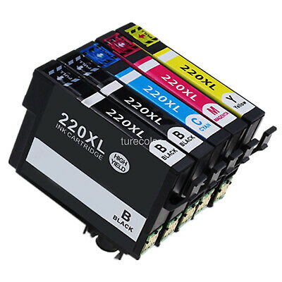 Extra Black 220xl Ink Cartridge for Epson xp 220 420 320 workforce wf2650 wf2660